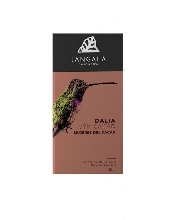 chocolate organicos daila 77% cacao