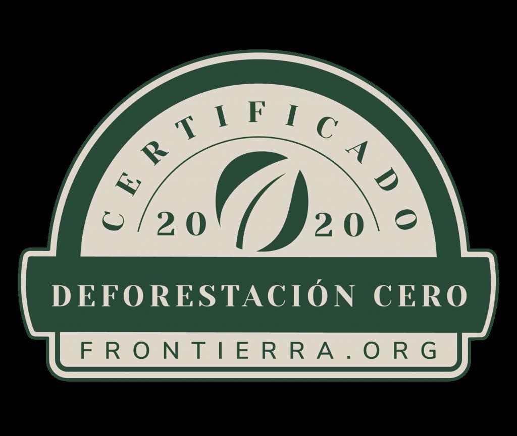 certificado cero deforestacion
